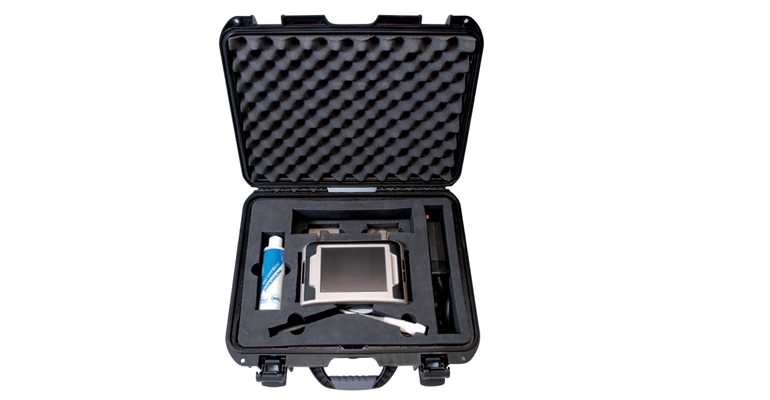 ImaGo sow ultrasound scanner in case
